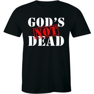od's Not Dead He's Surely Alive Christian T-shirt